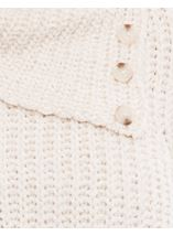 Long Sleeve Chenille Knit Top Buttermilk - Gallery Image 4