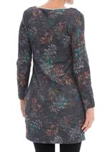 Floral Print Tunic Black/Multi - Gallery Image 2