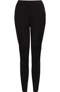 Suedette Fitted Trousers