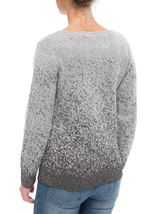 Anna Rose Long Sleeve Sparkle Knit Top Grey/Silver - Gallery Image 3