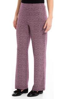 Pull On Stretch Trousers - Grape