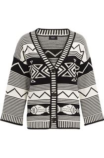 Super Soft Aztec Knit Cardigan