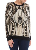 Aztec Print Super Soft Top
