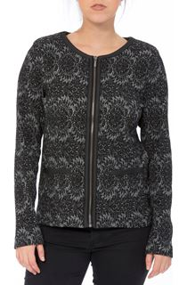 Patterned Zip Jacket
