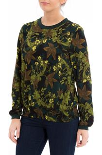 Long Sleeve Floral Georgette Top