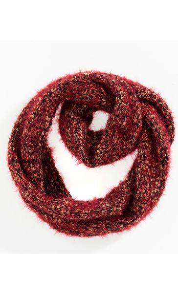Chunky Snood Red