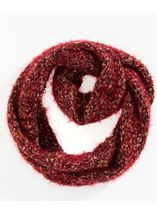 Chunky Snood Red - Gallery Image 1
