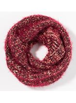 Chunky Snood Red - Gallery Image 2