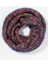 Chunky Snood Blue - Gallery Image 1
