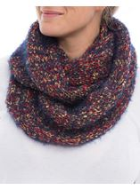 Chunky Snood Blue - Gallery Image 2