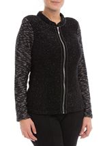 Anna Rose Knit Jacket Black - Gallery Image 2