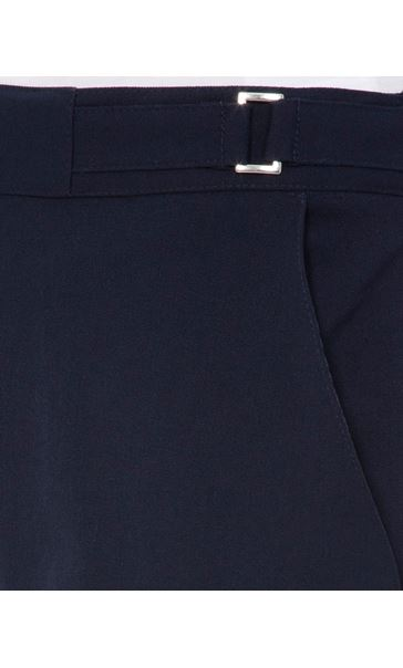 Anna Rose Straight Leg Trousers 29 Inch Navy - Gallery Image 4