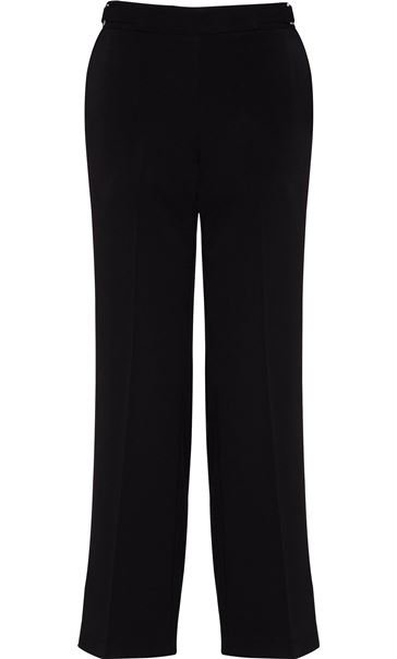 Anna Rose Straight Leg Trousers 29 Inch Black
