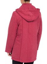 Anna Rose Scarf Coat Rouge - Gallery Image 3