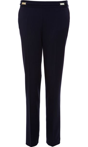 Anna Rose Everyday 29 Inch  Trousers Navy