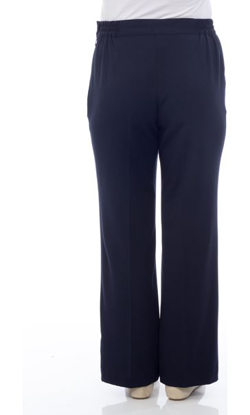 Anna Rose Everyday 29 Inch  Trousers Navy - Gallery Image 3