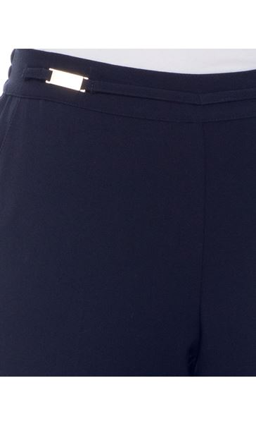 Anna Rose Everyday 29 Inch  Trousers Navy - Gallery Image 4