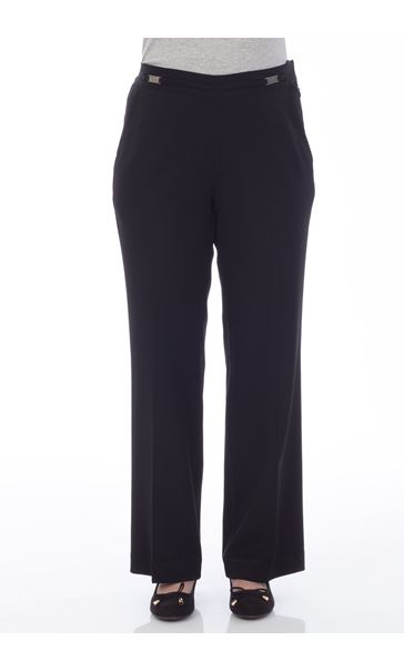 Anna Rose Everyday 29 Inch  Trousers Black