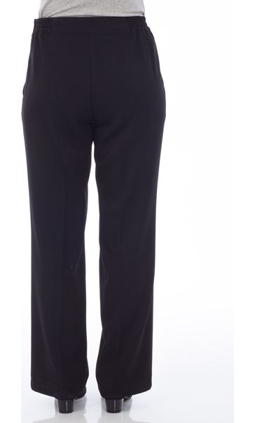 Anna Rose Everyday 29 Inch  Trousers Black - Gallery Image 2