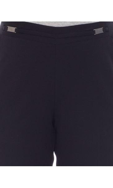 Anna Rose Everyday 29 Inch  Trousers Black - Gallery Image 3