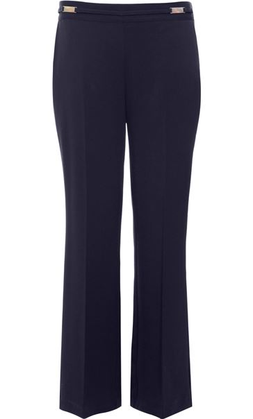 Anna Rose Everyday 29 Inch  Trousers Black - Gallery Image 4