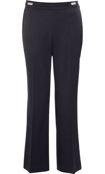Anna Rose Everyday 27 Inch  Trousers Charcoal - Gallery Image 1