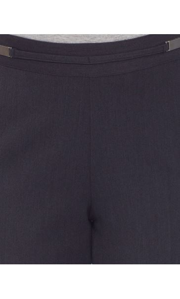 Anna Rose Everyday 27 Inch  Trousers Charcoal - Gallery Image 4