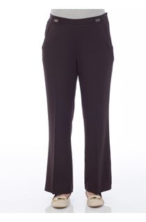 Anna Rose Everyday 27 Inch  Trousers - Choc