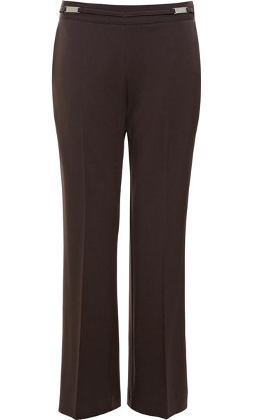 Anna Rose Everyday 27 Inch  Trousers Choc