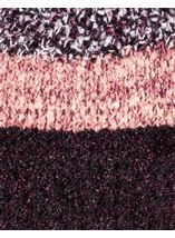 Faux Fur Bobble Hat Purple - Gallery Image 2