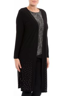 Longline Embellished Cover Up