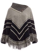Sleeved Tassel Cape