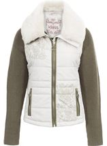 Detachable Knit Sleeve Gilet