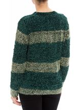 Chenille Long Sleeve Top Greens - Gallery Image 3