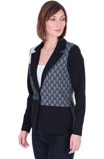 Patchwork Stretch Jacket