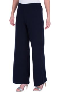 Wide Leg Pull On Trousers