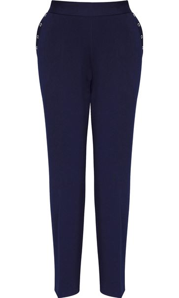 Anna Rose Everyday 27 Inch Trousers Navy