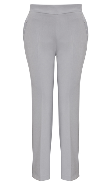 Anna Rose Everyday 29 Inch Trousers Soft Grey