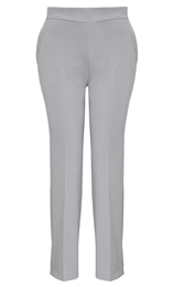 Anna Rose Everyday 29 Inch Trousers Soft Grey - Gallery Image 1