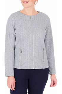 Anna Rose Zip Jacket With Lurex