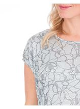 Short Sleeve Loose Fitting Jersey Top Pale Green - Gallery Image 3