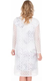 Longline Lace Open Cover Up