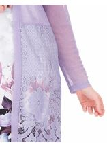 Longline Lace Border Open Cover Up Lilac - Gallery Image 3