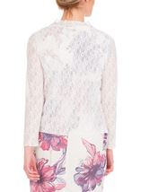 Anna Rose Glitter And Lace Cover Up Ivory - Gallery Image 2