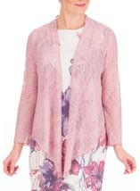 Anna Rose Glitter And Lace Cover Up Soft Pink - Gallery Image 1