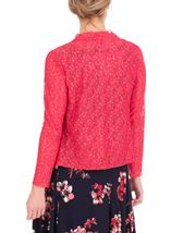 Anna Rose Glitter And Lace Cover Up Watermelon - Gallery Image 3