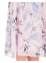 Anna Rose Bias Cut Chiffon Midi Skirt Soft Pink - Gallery Image 4