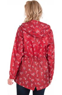 Lightweight Waterproof Printed Coat