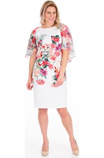 Bouquet Print Scuba Dress