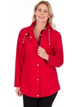 Lightweight Sporty Coat Ruby - Gallery Image 1